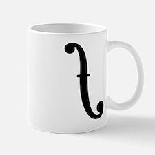 F Holes Mug