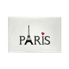 Paris Rectangle Magnet