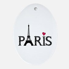 Paris Ornament (Oval)