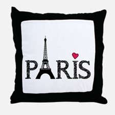 Paris Throw Pillow