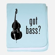 Got Bass? baby blanket
