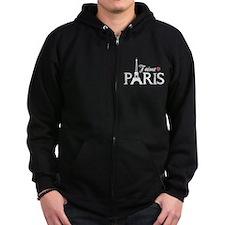 J'aime Paris Zip Hoodie