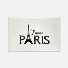 J'aime Paris Rectangle Magnet