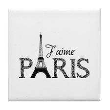 J'aime Paris Tile Coaster