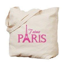 J'aime Paris Tote Bag