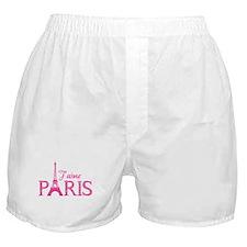 J'aime Paris Boxer Shorts