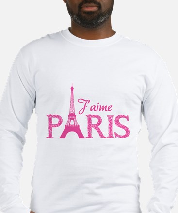 J'aime Paris Long Sleeve T-Shirt