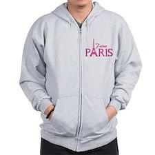 J'aime Paris Zip Hoody
