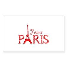 J'aime Paris Decal