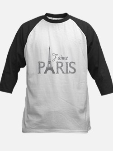 J'aime Paris Kids Baseball Jersey