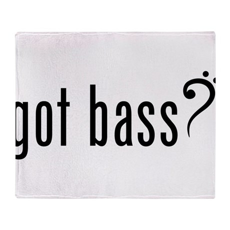 Got Bass? Throw Blanket