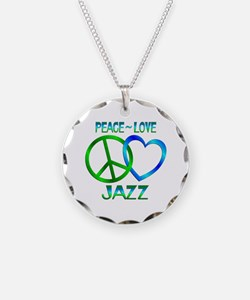 Peace Love Jazz Necklace