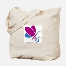 Hopeful Survivors Butterfly No Writing Tote Bag