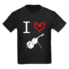 I Heart Double Bass T