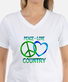 Peace Love Country Shirt