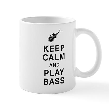 Keep Calm & Play Bass Mug