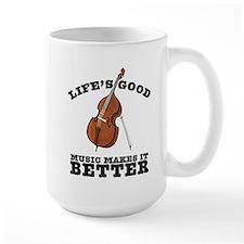 Music Makes Life Better Mug