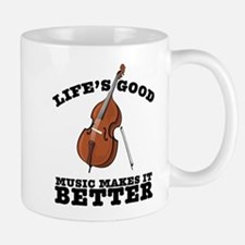 Music Makes Life Better Mug