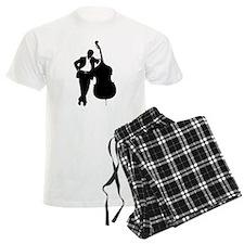 Man With Double Bass Pajamas