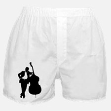 Man With Double Bass Boxer Shorts