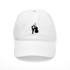 Man With Double Bass Baseball Cap