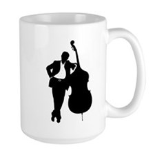Man With Double Bass Mug