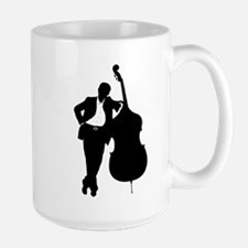 Man With Double Bass Mug