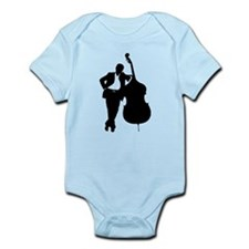 Man With Double Bass Infant Bodysuit