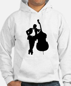 Man With Double Bass Hoodie