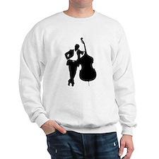 Man With Double Bass Sweatshirt