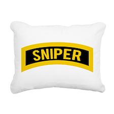 Sniper Rectangular Canvas Pillow