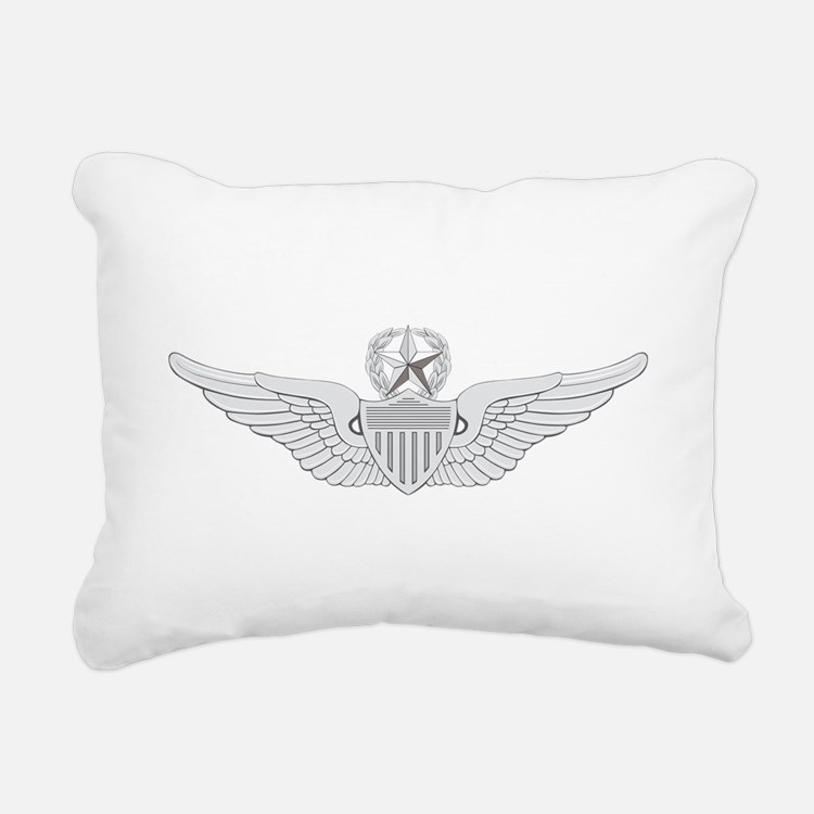 Master Aviator Rectangular Canvas Pillow