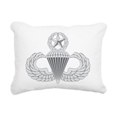 Airborne Master color Rectangular Canvas Pillow