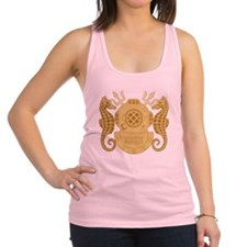 Navy Diving Officer Racerback Tank Top