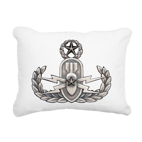 Navy Master EOD Rectangular Canvas Pillow