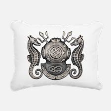 Master Navy Diver Rectangular Canvas Pillow