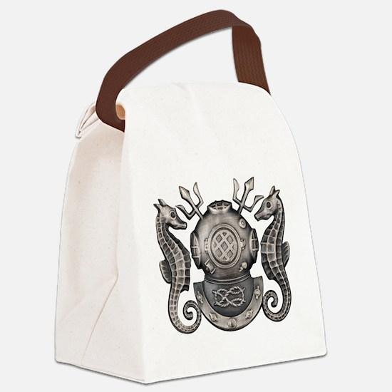 Master Navy Diver Canvas Lunch Bag
