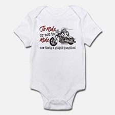 To Ride or Not to Ride Infant Bodysuit