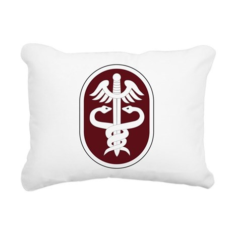 Medical Command Rectangular Canvas Pillow