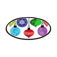 Christmas Ornaments Patches