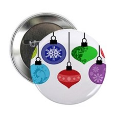 "Christmas Ornaments 2.25"" Button (10 pack)"