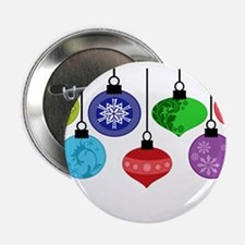 """Christmas Ornaments 2.25"""" Button"""