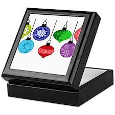 Christmas Ornaments Keepsake Box