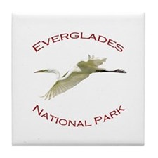 Everglades National Park...Great White Egret Tile