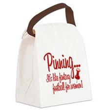 Pinning... Canvas Lunch Bag