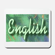 """English Teachers Web"" Mousepad"