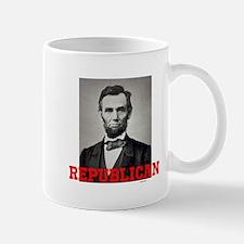Cute Obama lincoln Mug