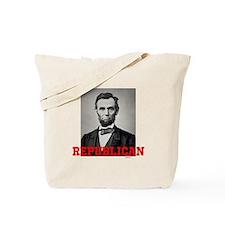 Cute Abraham lincoln Tote Bag