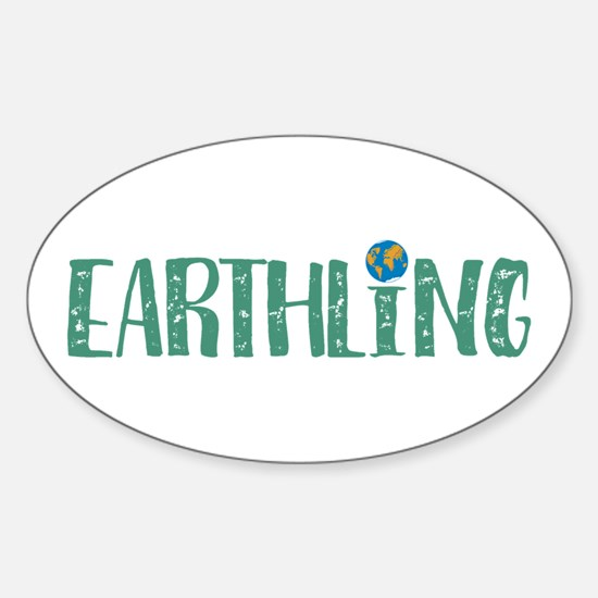 Earthling Bumper Stickers