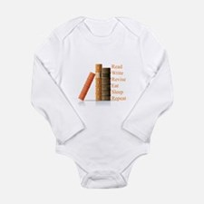 How to be a writer Long Sleeve Infant Bodysuit